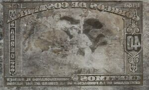 American Bank Note Company: Costa Rica Printing Plate C-96
