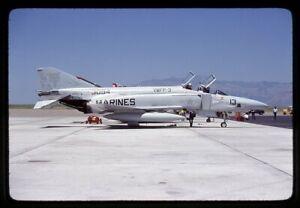 US Marines McDonnell Douglas RF-4B 153094 Aug 1980 Kodachrome Aircraft Slide/Dia