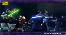 Star Wars Clone Wars Season 1 Widevision Season 2 Sneak Preview Chase Card Set