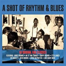 A SHOT OF RHYTHM & BLUES - 50 ORIGINAL CLASSICS-VARIOUS ARTISTS (NEW SEALED 2CD)