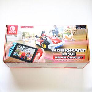 Nintendo Switch Mario Kart Live Home Circuit Mario Set Racing Video Game Tested