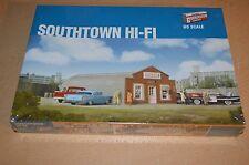 """Walthers Cornerstone HO Scale Kit """"Southtown Hi-Fi"""" 933-2919 SEALED"""