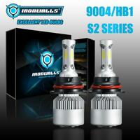 3-Side Hi&Lo 9004 HB1 LED Headlight Kit Bulbs for Dodge RAM 1500 2500 3500 94-01