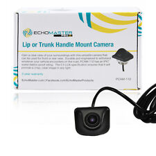 Backup Reverse Camera For Lip Mount Install or Tailgate Handle w/ Parking Lines