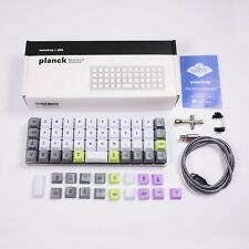 Planck 40% Ortholinear Mechanical Keyboard V6 - Gateron MX Brown Switches