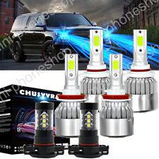 9005+H11+5202 LED Headlight + Fog Light Bulb c6  for GMC Sierra 1500 2500 3500