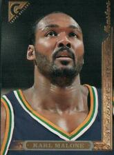 TOPPS GALLERY THE MASTERS KARL MALONE 1995-96 BASKETBALL CARD