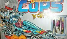 C.O.P.S n Crooks 1988 ROADSTER Turbo TuTone vintage cops hasbro box mib moc