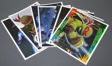 UN LOTE DE 8 CROMOS TEENAGE MUTANT NINJA TURTLES  2013 -PANINI