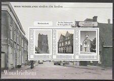2751-Ad-75 Steden tot en met heden - Woudrichem verleden -ZEER LASTIG VELLETJE