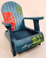 Margaritaville Palm Adirondack Chair Jar Candle Holder from Yankee Candle Co.