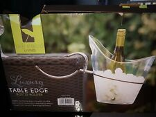 Luminous Ice Bucket Alcohol Holder Wine Bottle Chiller table edge boxed