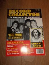 RECORD COLLECTOR MAGAZINE ~ JULY 1997 ISSUE: 215 THE WHO METALLICA ELVIS & MORE