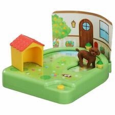 TAKARA TOMY Ania Friends Foot it Garden Poodle Dog House Animal Figure Play Set