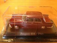 "DIE CAST ""PEUGEOT 404 - 1965"" SCALA 1/43 RBA AUTO INDIMENTICABILI"