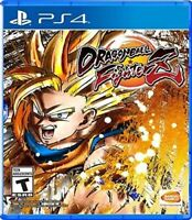 PLAYSTATION 4 PS4 VIDEO GAME DRAGONBALL FIGHTER Z FIGHTERZ BRAND NEW SEALED