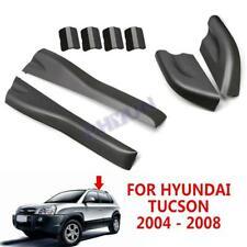 For 2004-2008 Hyundai Tucson Roof Rack Rail End Cover Shell Black 4PCS / Set