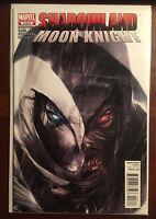 Shadowland Moon Knight issue #3 VF/NM 1st Print Marvel Francesco Mattina Cover