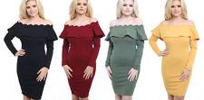 Viscose All Seasons Stretch, Bodycon Dresses for Women