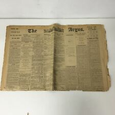 May 16, 1906 Edition of The Argus Newspaper #417