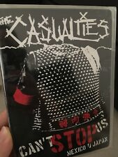 The Casualties - Can't Stop Us NEW/sealed region 1 DVD (music) rare