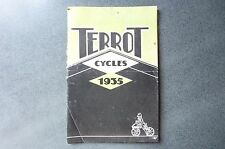 Terrot Cycles 1935