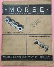 Ra114 Morse Roller Chain Drivers Catalog