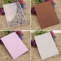 DIY Embossing Folders Plastic Template Die Cutting Album New Decor Scrapboo Z6V3