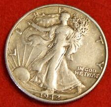 1942-D 50C WALKING LIBERTY HALF DOLLAR XF BEAUTIFUL COIN CHECK OUT STORE WL307