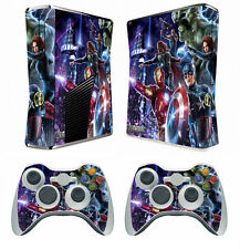 Avengers 260 Vinyl Decal Skin Sticker for Xbox360 slim and 2 controller skins