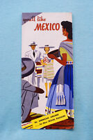 You'll Like Mexico - American Airlines - Brochure - Circa 1950