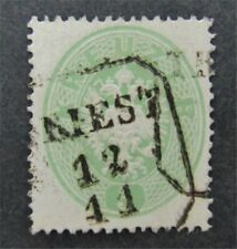 nystamps Austria Stamp # 18 Used $100