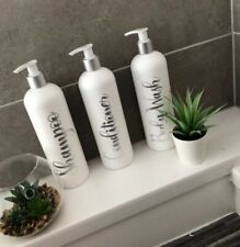 Mrs Hinch Pump Bottles. Bathroom Pump Bottles.Personalised Bathroom Pump Bottles