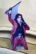 "Alice Cooper Rock & Roll Band Tabletop Standee 11"" Tall"