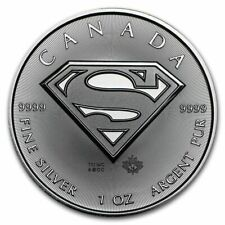 2016 Superman silver coin Canada 1oz pure 9999