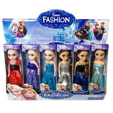 Elsa Anna Mini dolls Lovely Anna Elsa Dolls Princess Kids Toys cartoon dolls bs