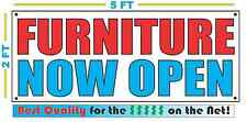 Furniture Now Open Banner Sign New Larger Size Best Quality for the $
