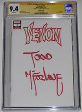 Venom 1 CGC 9.4. Signed by Todd McFarlane. Full sig! Cates/Stegman 7/18. Not 9.8