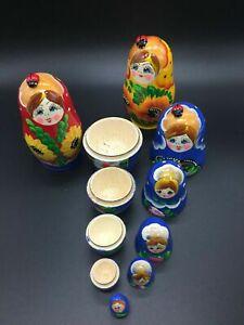 Muñeca rusa Matryoshka 10 cm 7 pzas