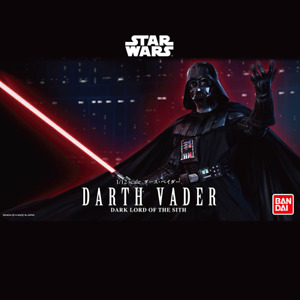 """Darth Vader """"Star Wars"""" Character Line 1/12 Model Kit Bandai Hobby"""