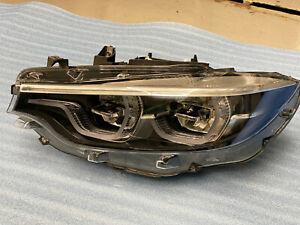 2018-2020 BMW M3 M4 LCI F32 F33 F36 LEFT Adaptive Full LED Headlight OEM 7478157
