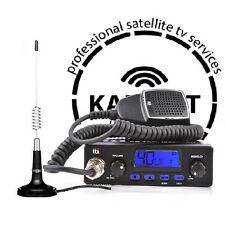 Radio CB STARTER KIT TTI TCB-550 Multi-Standard + ANTENNA CB Canva 874 Cigaret
