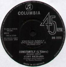 "CLIFF RICHARD & THE SHADOWS ~ CONSTANTLY / TRUE, TRUE LOVIN' ~ 1964 UK 7"" SINGLE"