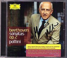 Maurizio POLLINI Signiert BEETHOVEN Piano Sonata No.1 2 3 Op.2 Klaviersonaten CD