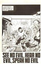 Planet of the Apes: Ape City #2 p 3 - See No Evil - Malibu - 1990 by M.C. Wyman
