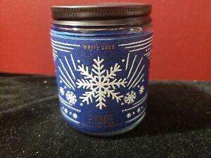 Bath & Body Works FLANNEL Single Wick Candle 7 oz NWT Blue Wax