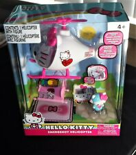 Hello Kitty Emergency Helicopter  NEW