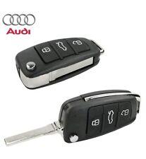 Cover Guscio Chiave Telecomando 3 Tasti per Audi A3 A4 A6 TT Q7 S6 Quattro