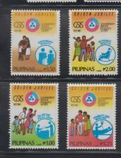 Philippine Stamps 1987 GSIS 50th Anniversary complete set MNH