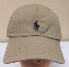 Polo Ralph Lauren Baseball Cap Hat  Beige Adjustable One Size c5